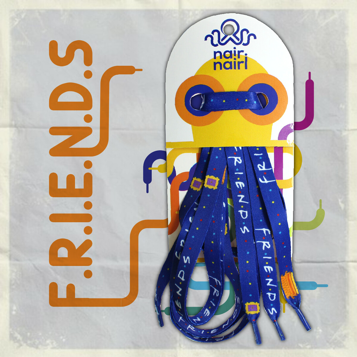 F.R.I.E.N.D.S.-ის თასმა with benefits