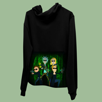 Rick and Morty + The Matrix Hoodie