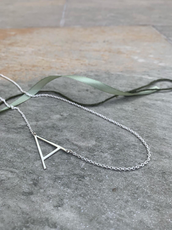 Large Letter Necklace
