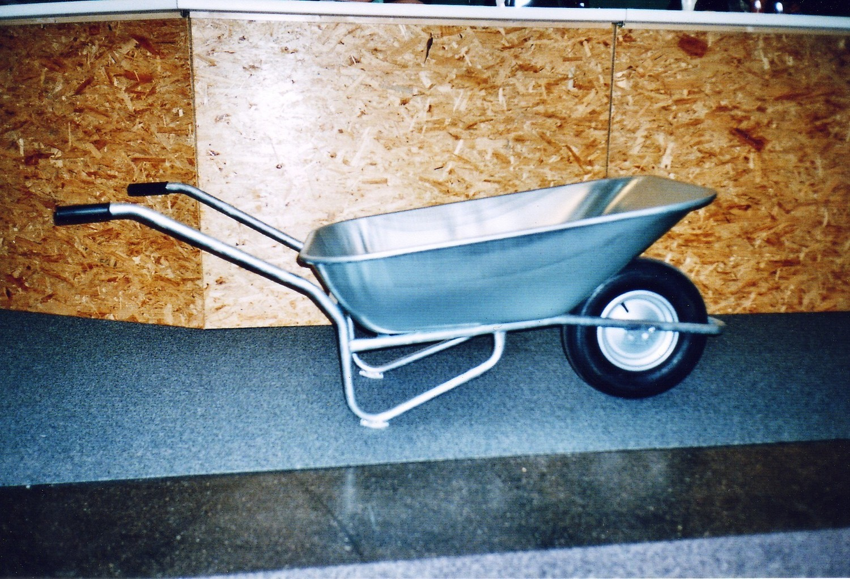 Blech-Karrette (Gestell feuerverzinkt)