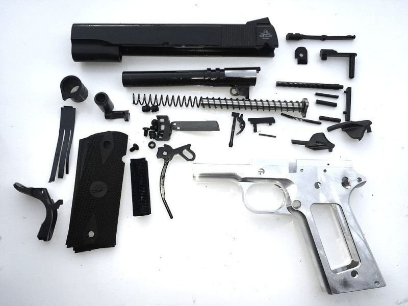 80% 1911 45. Cal. Government Size - Complete Pistol Kit