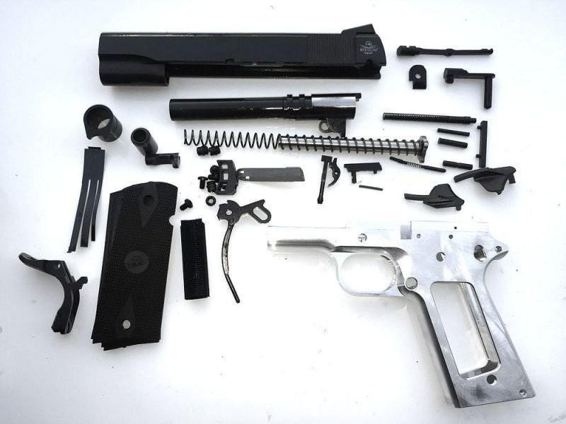 80% 1911 40 Cal. & 10mm Government Full Size - Complete Pistol Kit
