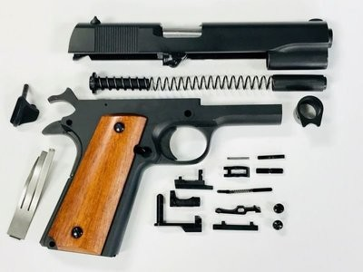 1911 80% GI Full Size .38 Super Kit - 70 Series w/ Steel Frame