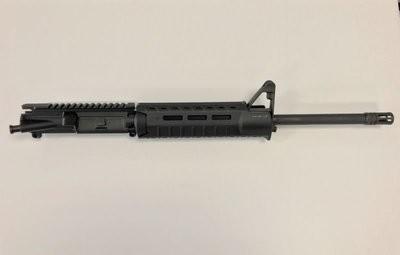 5.56 1/9 Twist Complete Upper w/ Front Sight Base Magpul Moe SL Hand Guard BLACK