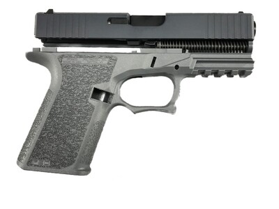 Glock 17 Gen3 80% Full Size Pistol Build Kit - Polymer80 PF940V2 - Gray