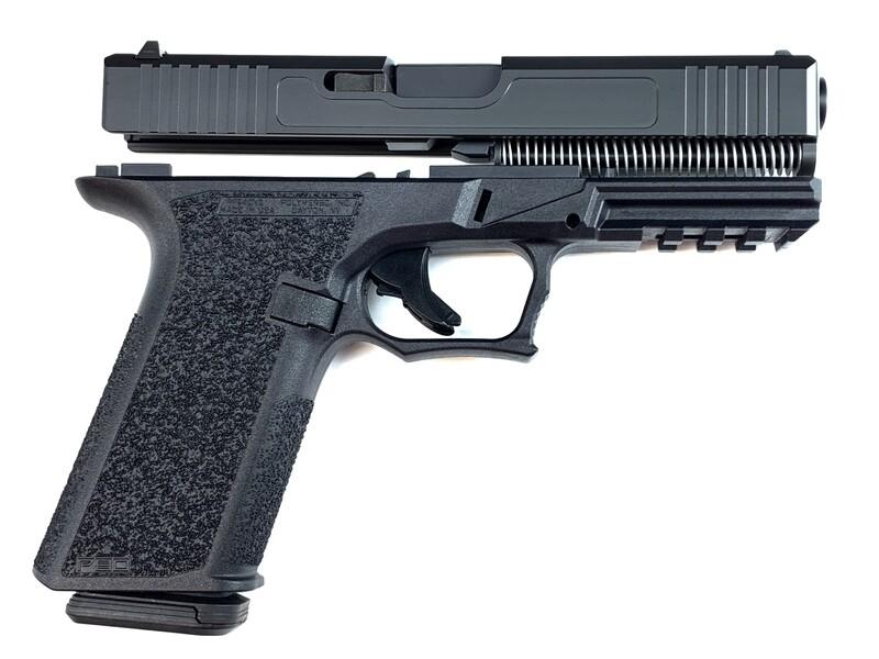 Patriot G17 80% Pistol Build Kit 9mm - Black - FRAME NOT INCLUDED