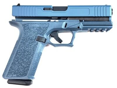 Patriot G17 80% Pistol Build Kit 9mm - Polymer80 PF940V2 - Blue Titanium