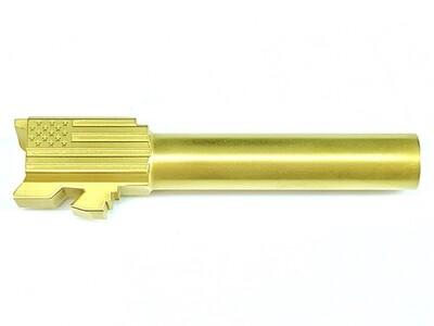 Premium Glock 19 Stainless Gold Tin