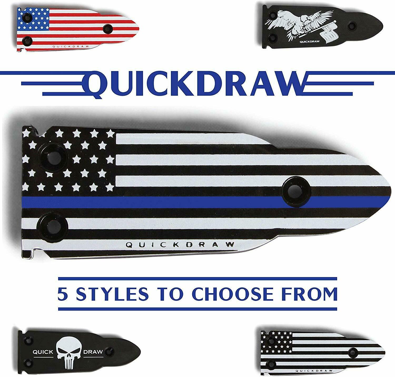QuickDraw Magnetic Gun Mount - Blue Line