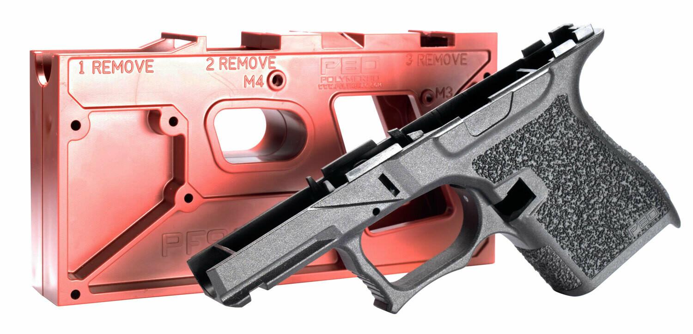 Polymer80 PF9SSBLK PF9SS 80% Glock 43 Black Gen 4 Polymer Frame
