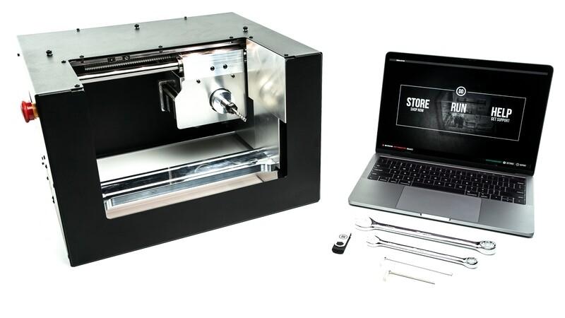 👻 Ghost Gunner 3 - Desk Top CNC Machine - 5x faster cutting