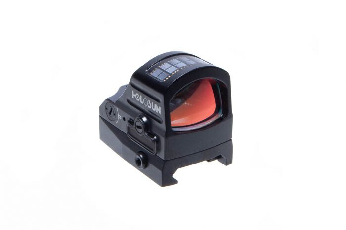 HS407CO  V2 OPEN REFLEX SIGHT - RED DOT/SOLAR PANEL