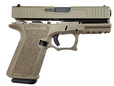 Patriot G19 80% Pistol Build Kit 9mm - Polymer80 PF940C - FDE