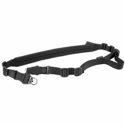2 - POINT SLING/STEEL CLIPS/SLEEVE (HEAVY DUTY)/BLACK