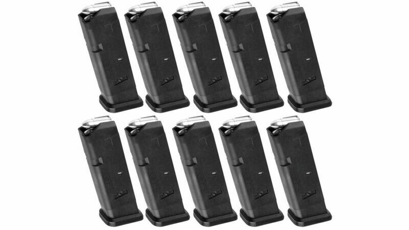 Magpul Industries PMAG 10rd GL9, Glock 17 10-Round 9mm Magazine 10 Pack