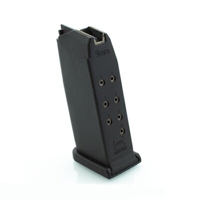 GLOCK OEM MAGAZINE: MODEL 26 9MM 10RD CAPACITY - MF26010