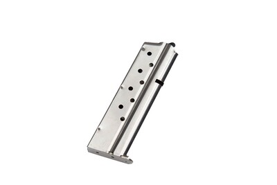 1911 Full Size Government .38 Super 8rd Stainless Steel Magazine