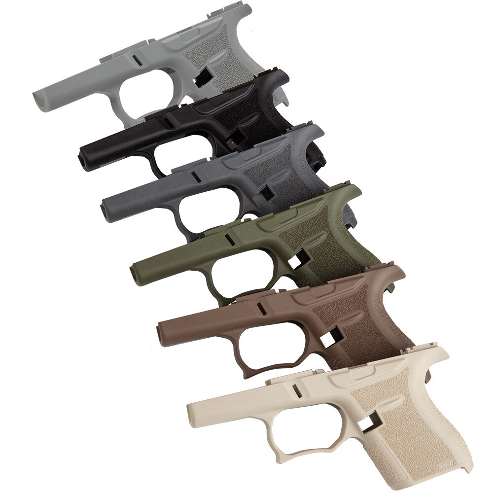 SS80 80% Glock 43 LOWER TACTICAL GREY
