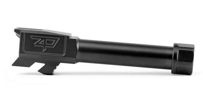 Barrel – G43 – Black Nitride – Threaded