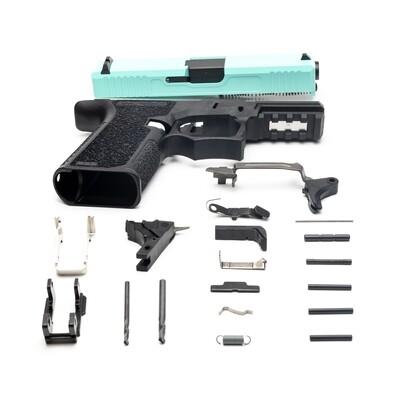 Patriot G19 80% Pistol Build Kit 9mm - Tiffany Blue - FRAME NOT INCLUDED