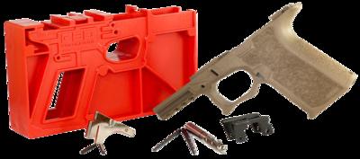 Polymer80 PF940CV1F G19/23 Gen3 Compatible Frame Kit Polymer FDE