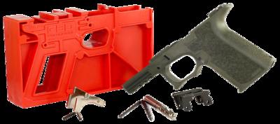 Polymer80 PF940CV1O G19/23 Gen3 Compatible Frame Kit Polymer OD Green