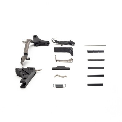 Glock 19 Aftermarket Adjustable Aluminum Billet Trigger Lower Parts Kit