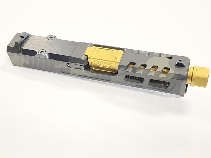 Zaffiri Precision G26 Slide – Gen 3 & 4 Multicam Black - RMR -