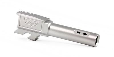 Zaffiri Precision  Barrel – G43 – PORTED – Flush & Crown – Stainless