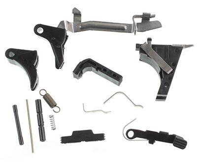 Polymer 80 Pistol Frame Completion Lower Parts Kit - P80 / G17 / G19 / G26 Frames
