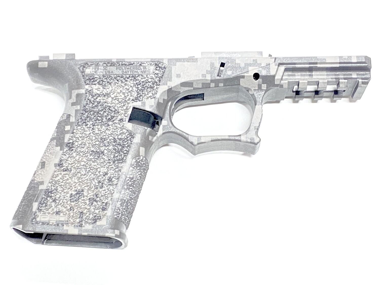 PF940C 80% Glock Compact Cobalt Digital Camo Frame