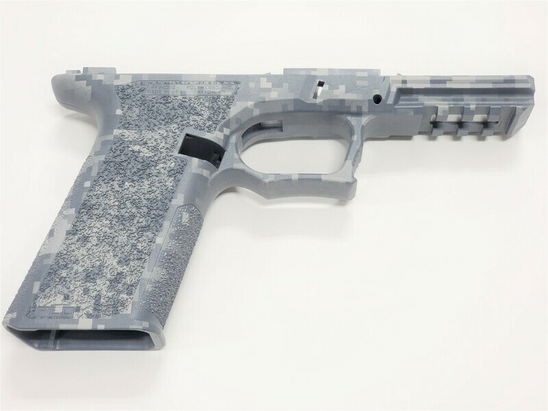 PF940V2 80% Glock Full Size Gray Digital Camo Frame