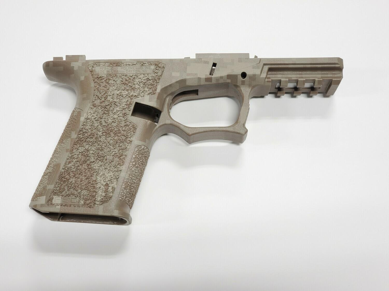 PF940C 80% Glock Compact FDE Digital Camo Frame