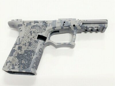 PF940C 80% Glock Compact Gray Digital Camo Frame
