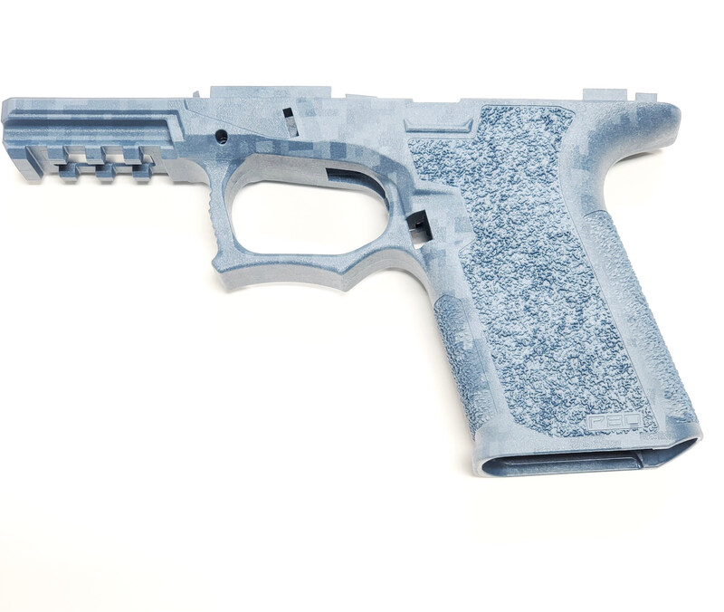 PF940C 80% Glock Compact Blue Titanium Digital Camo Frame  VERY LIMITED STOCK!