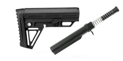 Trinity Force Alpha Combat Mil-Spec Carbine AR-15 Complete Stock Kit w/Buffer Tube Kit