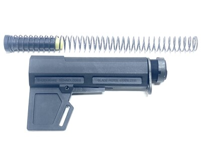 Shockwave Blade 2.0 + KAK Black Pistol Buffer Tube Kit