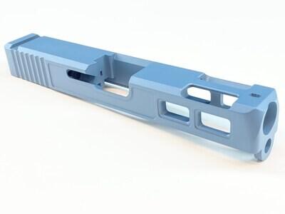 🔥New Patriot G23 40 S&W .40 Cal Gen 3 Ported Windowed Slide - Jesse James Blue Color