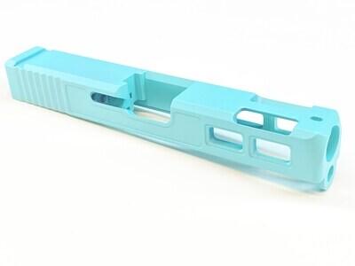🔥 New Patriot G23 40 S&W .40 Cal Gen 3 Ported Windowed Slide - Tiffany Blue Color