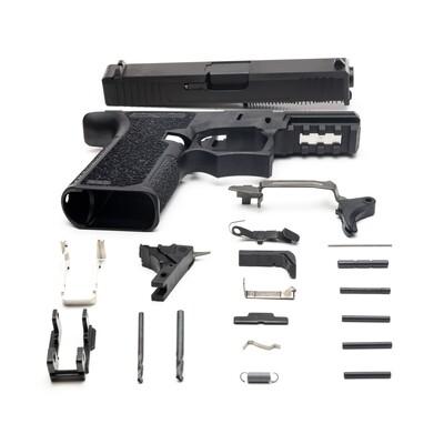 Patriot G19 80% Pistol Build Kit 9mm - Black - FRAME NOT INCLUDED
