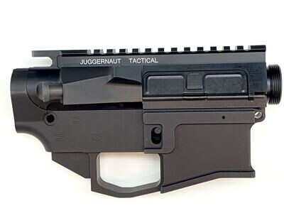 AR-15 JUGGERNAUT TACTICAL Builder Pack - 80% Lower Receiver & Billet Upper Receiver Assembly
