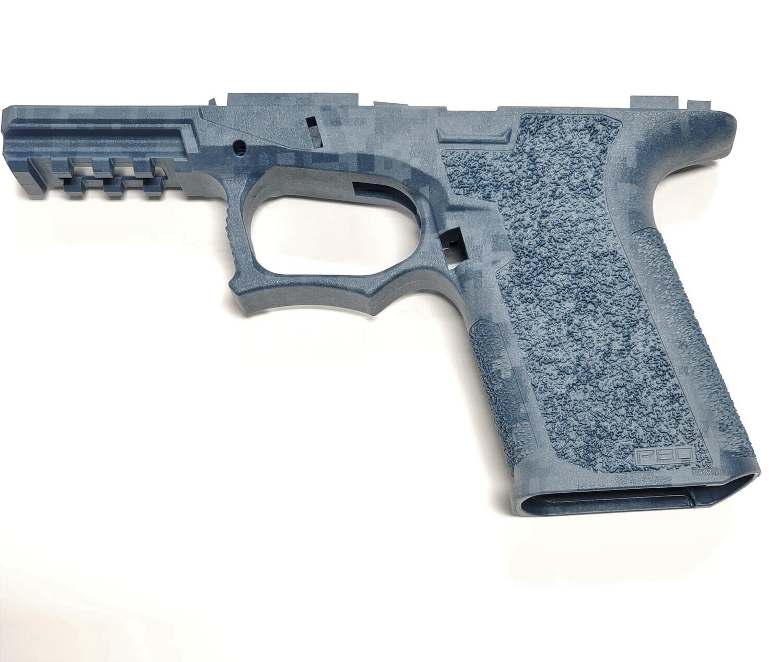 PF940C 80% Glock Compact Blue Titanium Digital Camo Frame  VERY LIMITED STOCK!