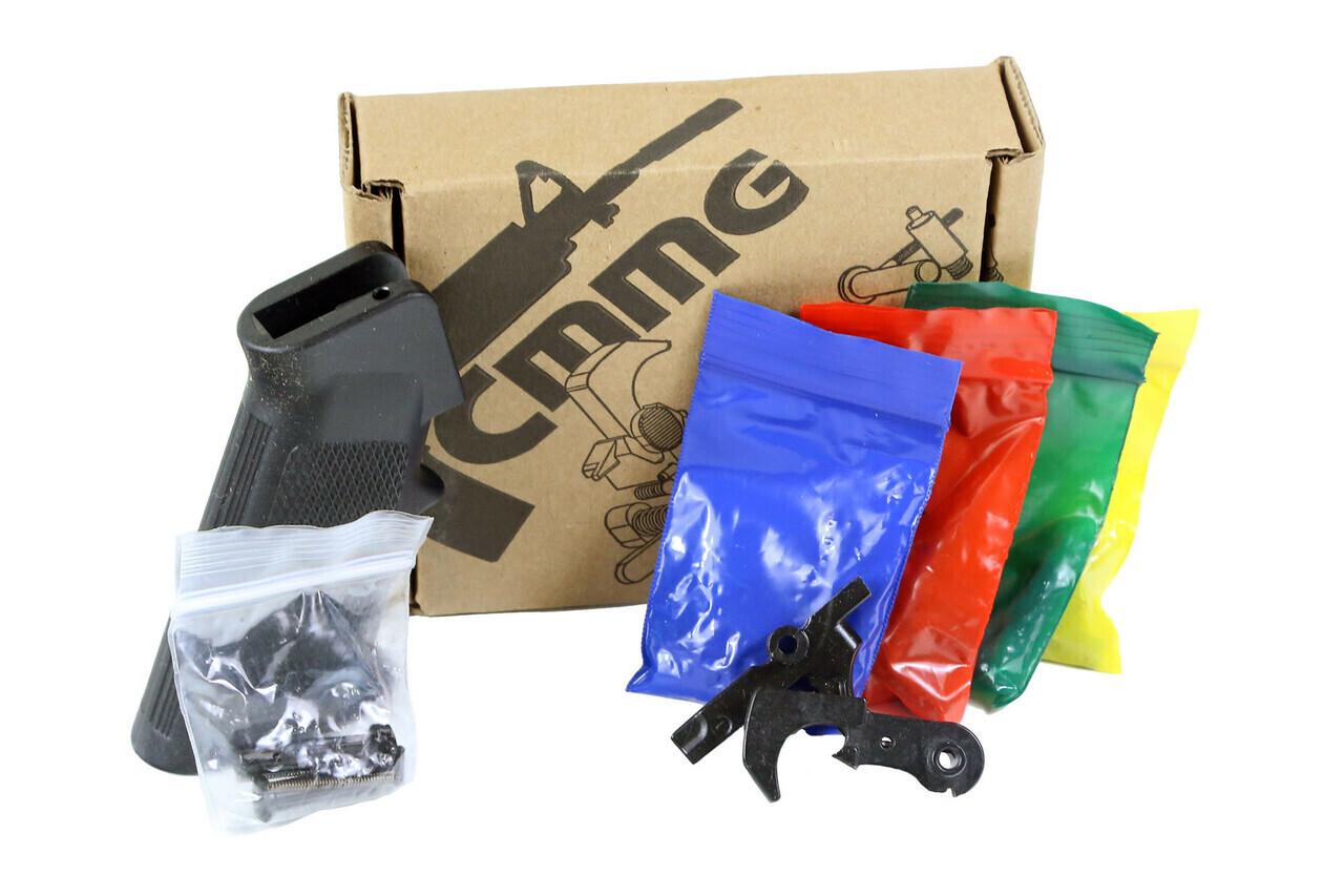 CMMG, Lower Receiver Parts Kit, 223 Rem/556NATO, , Black Finish