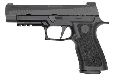 80% Sig Sauer P320 XFull 9mm Optics Ready Pistol - Comes With P320 80% Insert MUP 1 - Pistol Case