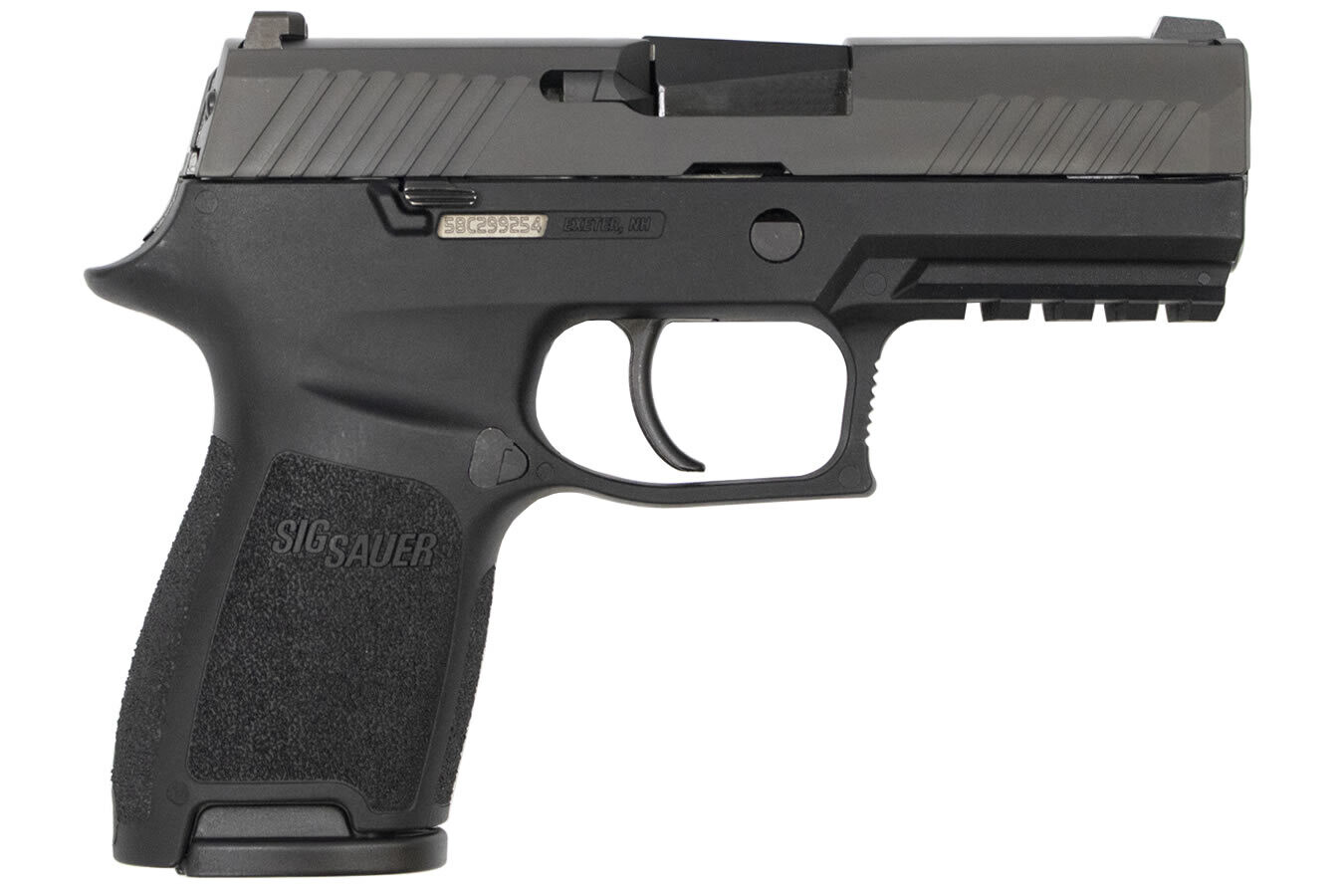 80% Sig Sauer P320 Compact 40 S&W Centerfire Pistol Comes With Pistol Case