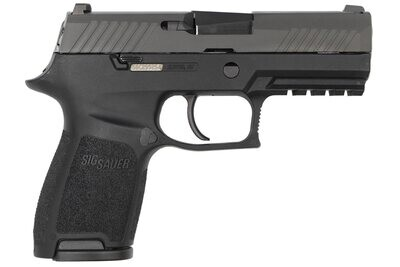 80% Sig Sauer P320 Compact 40 S&W Centerfire Pistol with Night Sights - Comes With P320 80% Insert MUP 1 - Pistol Case