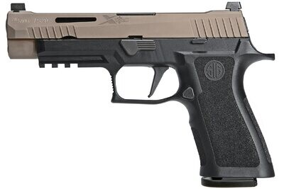 80% Sig Sauer P320 X-VTAC 9mm Striker-Fired Pistol with FDE Slide -  2 Mags - Comes With P320 80% Insert MUP 1 - Pistol Case