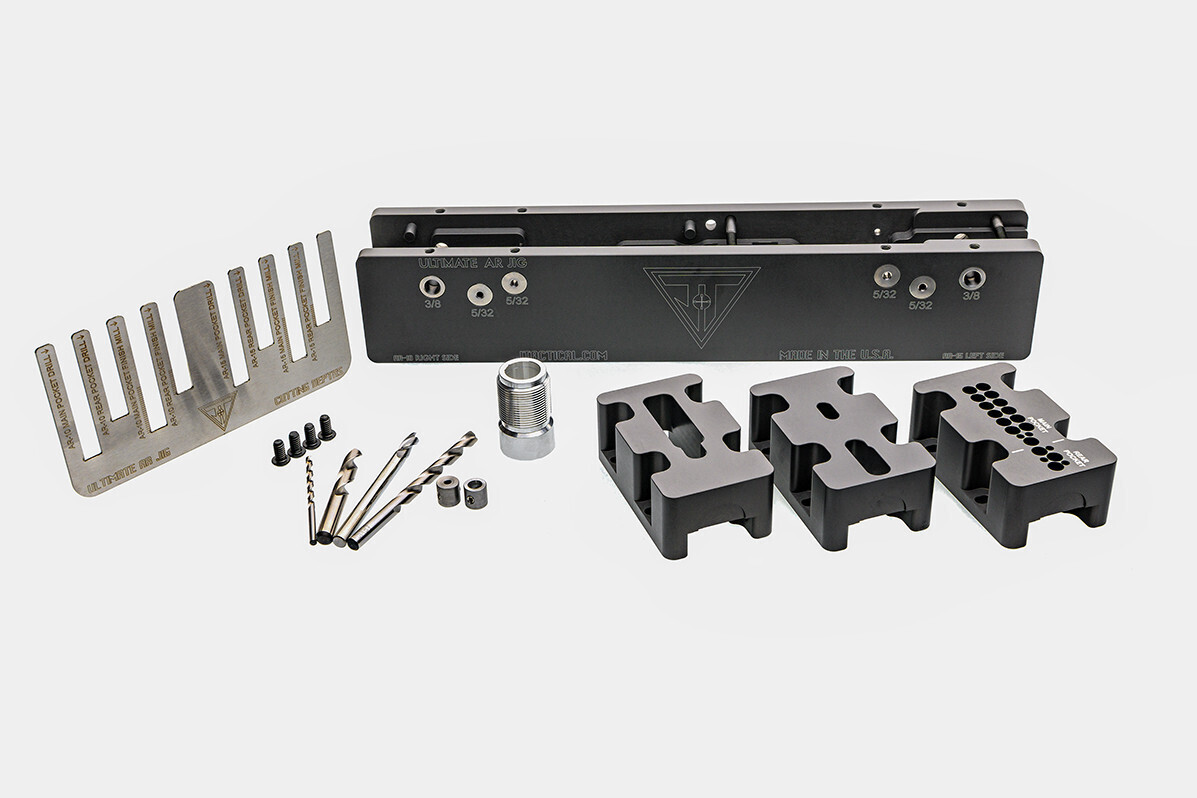 80% Lower Receiver Jig for AR-10 & AR-15 - Ultimate Jig