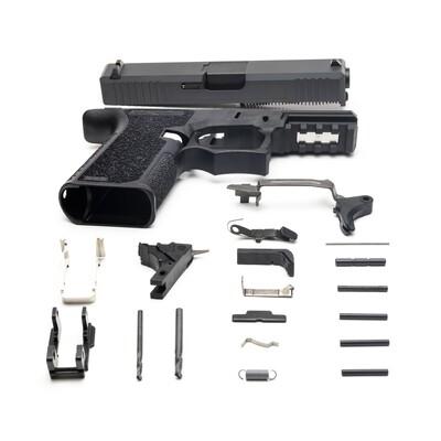 Patriot G19 80% Pistol Build Kit 9mm - Sniper Gray - FRAME NOT INCLUDED