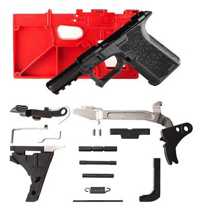 Polymer80 PF940V2 80% Glock 17 Frame & Lower Parts Kit - Pick Your Frame Color
